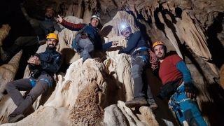 CİSAD üyesi dağcılar, Sümbül Dağındaki mağarayı gezdiler
