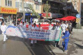 Hakkari'de 'Amatör Spor Haftası' etkinlikleri