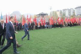 Hakkari'de Cumhuriyet Bayramı coşkusu