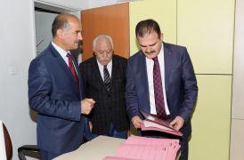 Vali Akbıyık'tan SGK Müdürü Polat'a ziyaret