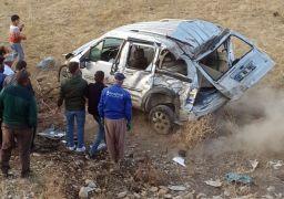 Yüksekova'da trafik kazası: 2 yaralı