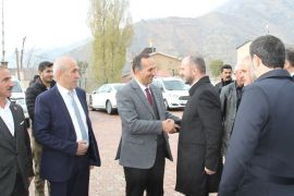 AK Parti heyetinin Şemdinli ziyareti