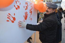 Hakkari'de kadınlar şiddete 'hayır' dedi