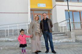 Terör mağduru aileler evlerine kavuştu