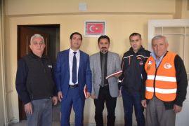AFAD Müdürü Karadeniz'den İHA'ya ziyaret