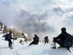 Cisad Dağı'na tırmanış