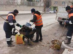 Hakkari Belediyesinden kış temizliği