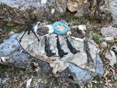 'Kıran 10' operasyonunda silah ve mühimmat bulundu
