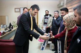 Müdür Aydın'dan hastane personeline teşekkür