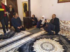 Şehit ailelerine yılbaşı ziyaretleri