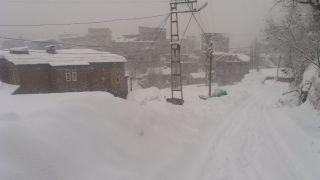 Hakkari'de 125 yerleşim yerinin yolu kapandı