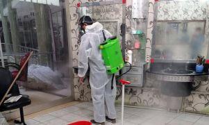 """Başkan Çoğaç: """"Kuaförleri dezenfekte ettik, tamamına maske dağıtacağız"""""""
