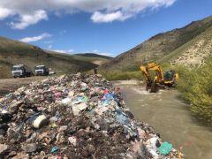 Esendere'de 15 yıllık çöp alanı kapandı