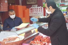 Hakkari'de Ramazan ve korona virüsü denetimleri
