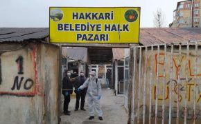 Hakkari'de kapı kapı dezenfekte