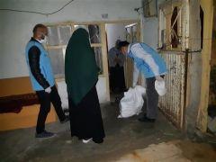 Hakkari'deki din görevlilerinin yardımları devam ediyor