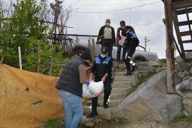 Vefa Sosyal Destek Grubu yardımlarını sürdürüyor
