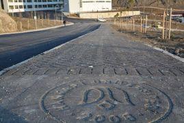 Hakkari Üniversitesi'nin kampüsü asfaltlandı