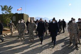 Vali Akbıyık sınırda ziyaretlerde bulundu