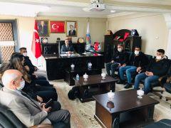 Başkan Saklı gazetecilerle bir araya geldi