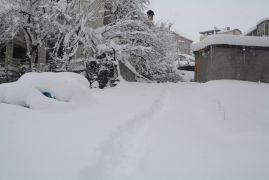 Hakkari'de 328 yerleşim yerinin yolu kapandı