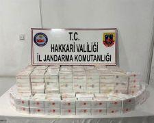 Şemdinli'de araç içinde kaçak tıbbi ilaç ele geçirildi