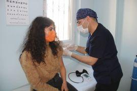 Şemdinli'de öğretmenlere korona virüs aşısı