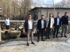 ASRİAD Hakkari Şubesinden 350 aileye et yardımı