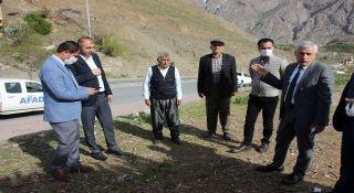 Başkan Özbek'ten mahalle ziyareti