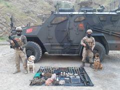 Çukurca'da PKK'ya darbe: Çok sayıda silah ve mühimmat ele geçirildi