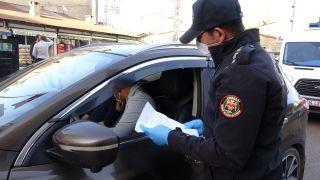 Yüksekova polisinden korona virüse karşı sıkı denetim