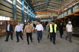 Vali Akbıyık, maden tesislerini ziyaret etti