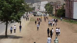 Yüksekova'da AYT maratonu sona erdi