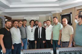 Başkan Özbek, gazetecilerle bir araya geldi