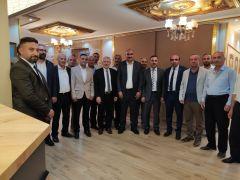 Hakkari AK Parti İl Teşkilatı Çukurca'yı ziyaret etti