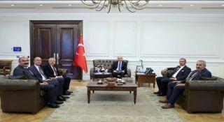 Hakkari heyetinden Ankara'ya çıkarma