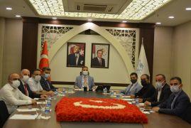 Hakkari'de OSB Müteşebbis Heyeti Toplantısı yapıldı