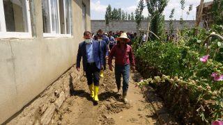 Yüksekova'da sel felaketinin yaraları sarılıyor