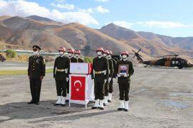 Şehit Eser için Hakkari'de tören düzenlendi