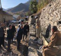 Çukurca Kaymakamlığının projeleri köy halkını sevindiriyor