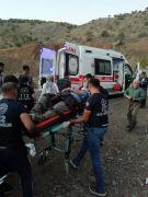 Derecik'te trafik kazası: 5 yaralı