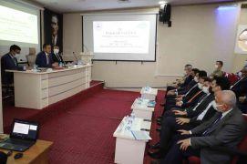 Hakkari'de il koordinasyon kurulu toplantısı düzenlendi